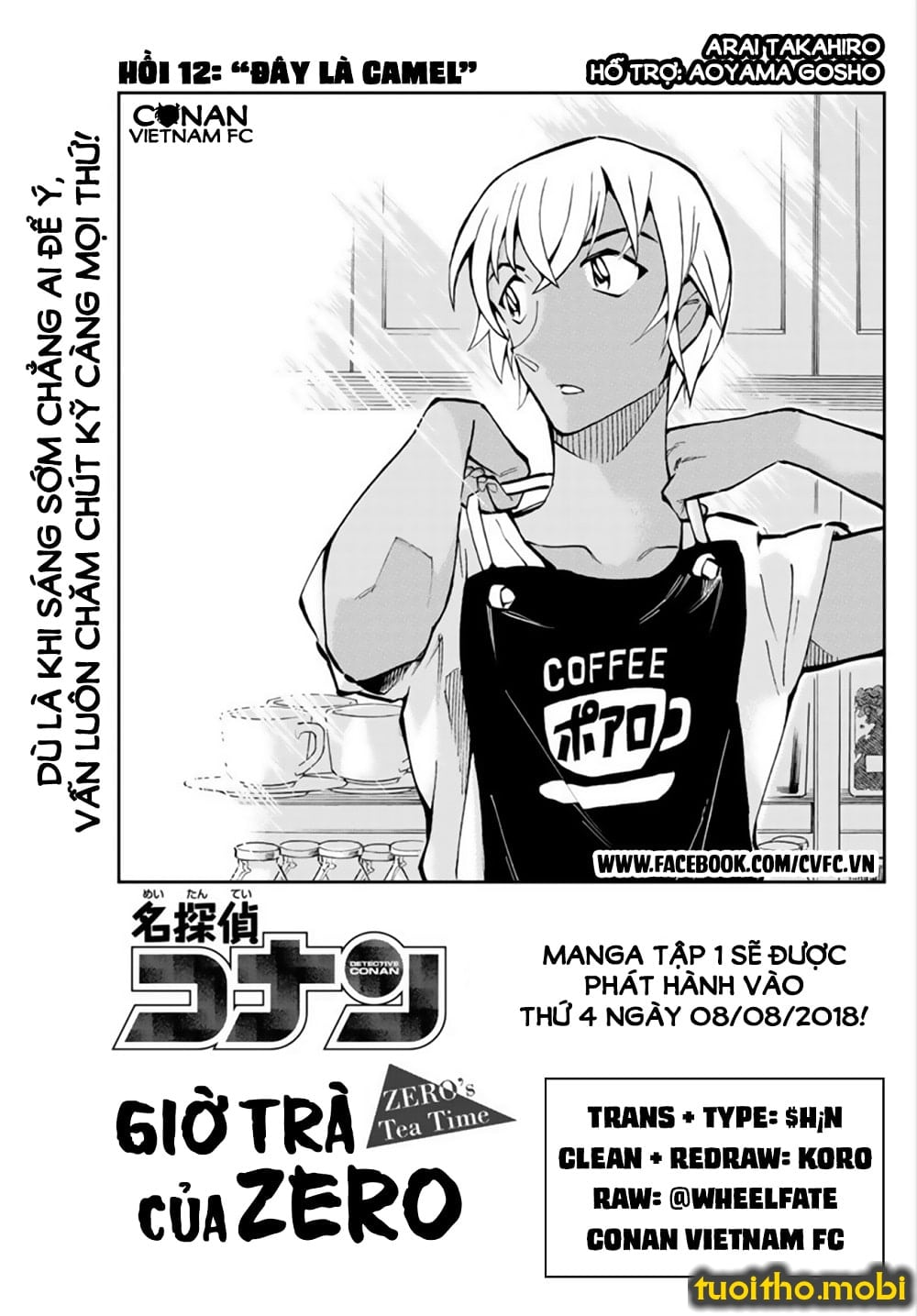 CONAN Zero's Tea Time - Tập 2 - Chap 12