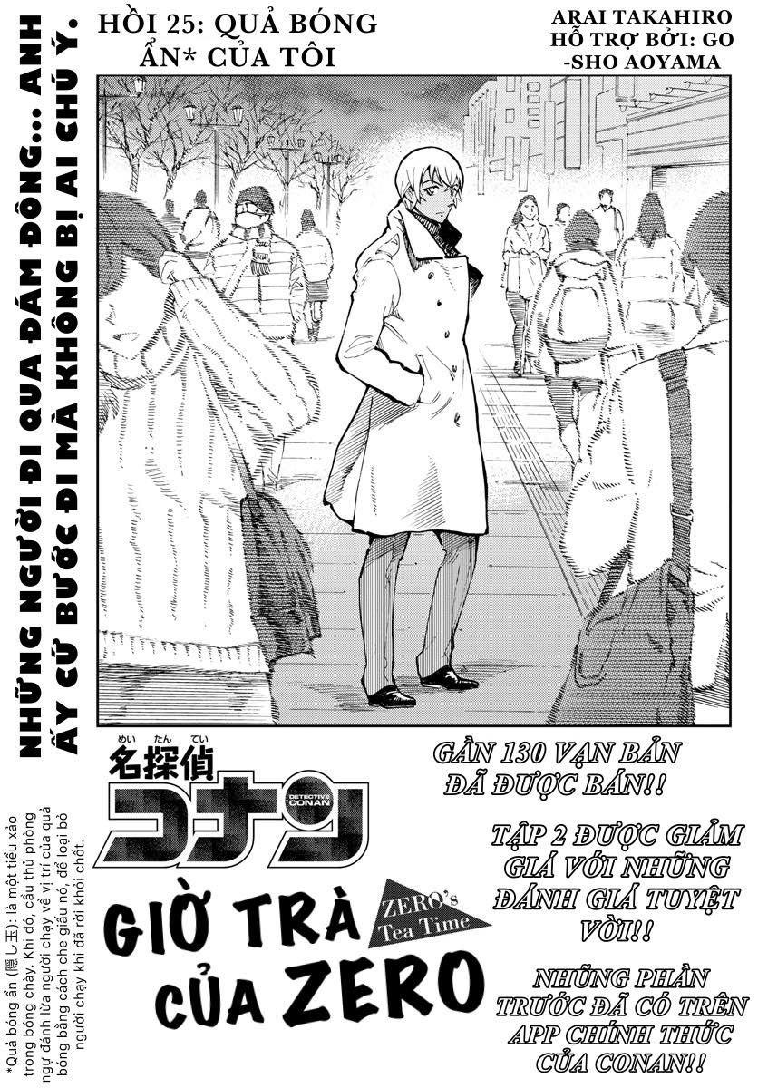 CONAN Zero's Tea Time - Tập 3 - Chap 25
