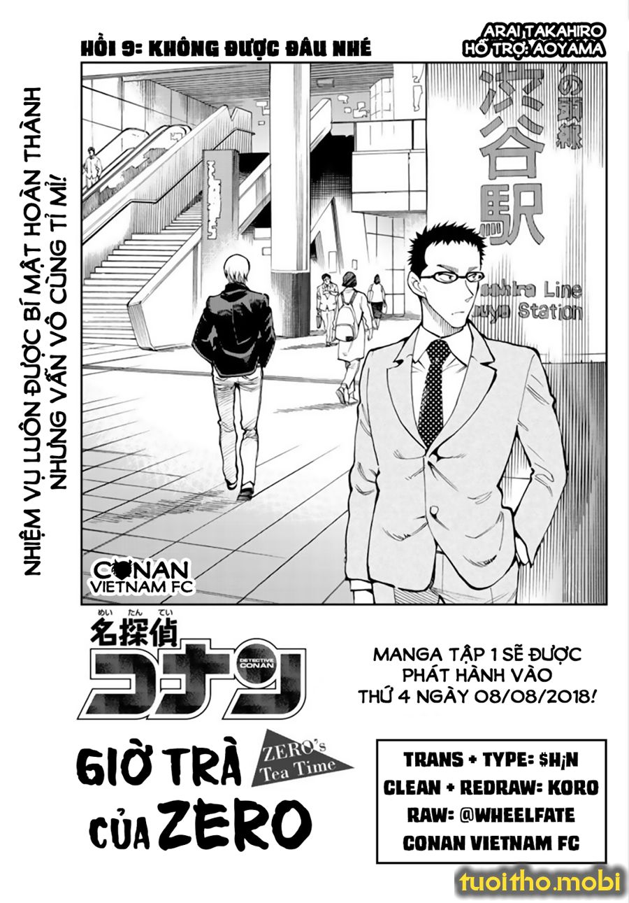 CONAN Zero's Tea Time - Tập 1 - Chap 9