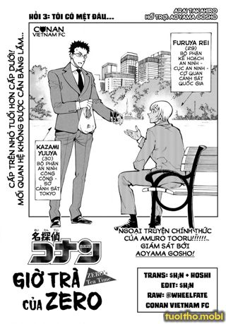 CONAN Zero's Tea Time - Tập 1 - Chap 3