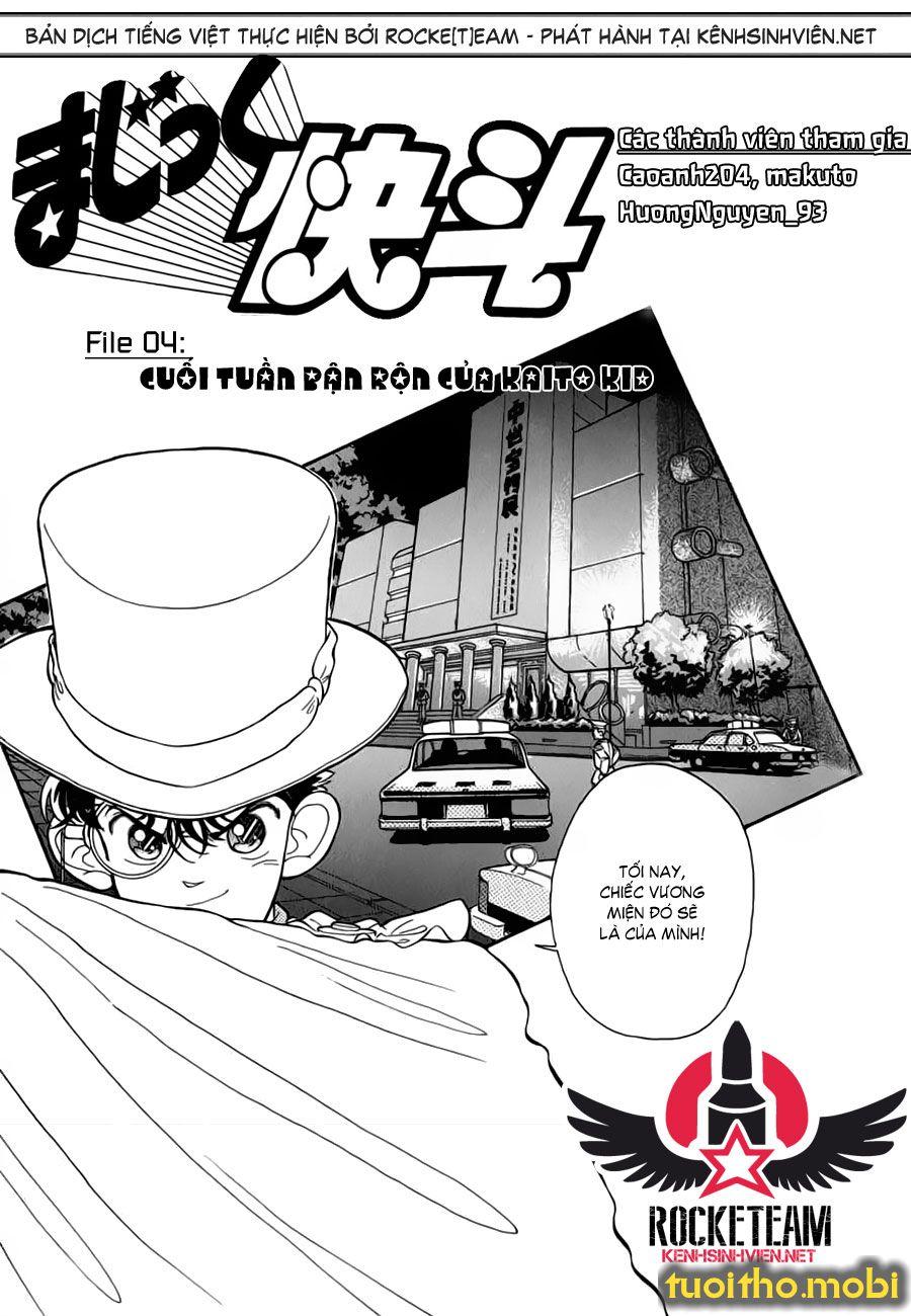 MAGIC KAITO - Tập 1 - Chap 4