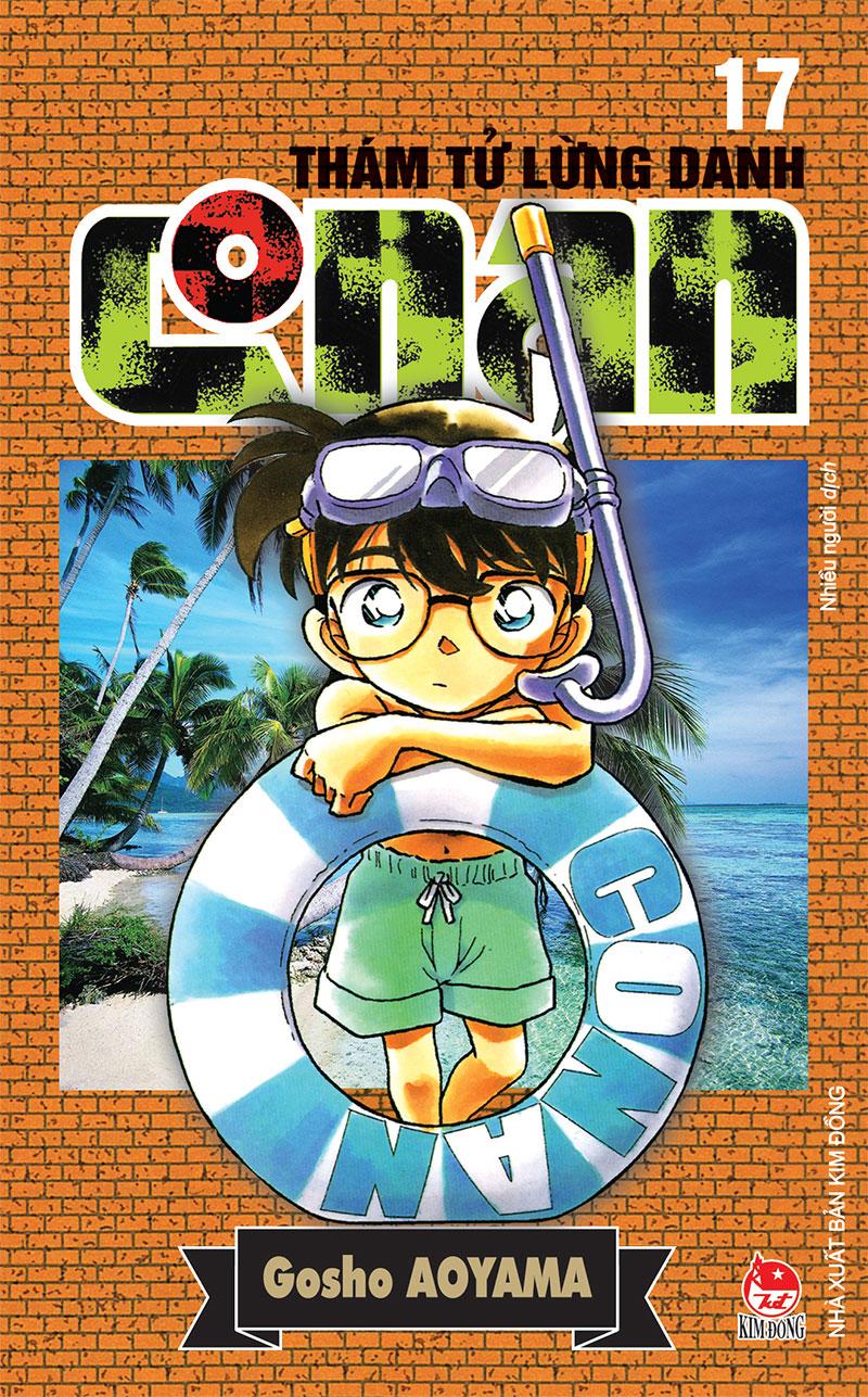 Ảnh bìa Thám tử lừng danh Conan - Tập 17