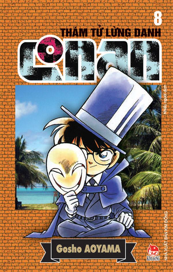 Ảnh bìa Thám tử lừng danh Conan - Tập 8