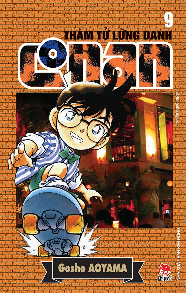 Ảnh bìa Thám tử lừng danh Conan - Tập 9